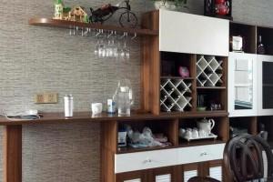 最流行的酒柜,怎么装修才能高大上呢?