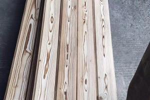 碳化木扣板图片