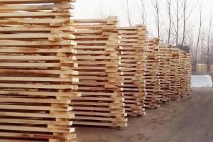 青海玛沁县对木材经营加