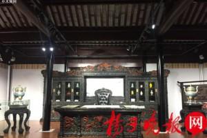 苏州博物馆展出18件精品苏作家具