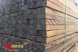 花旗松多少钱一个立方    上海花旗松碳化木厂家