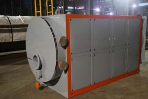 燃气锅炉,30mg(毫克)低氮冷凝燃气热水锅炉三回程全湿背式