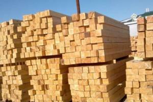 泰安辐射松建筑木方厂家直销
