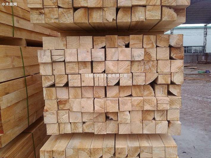 花旗松建筑方木供货厂家价格