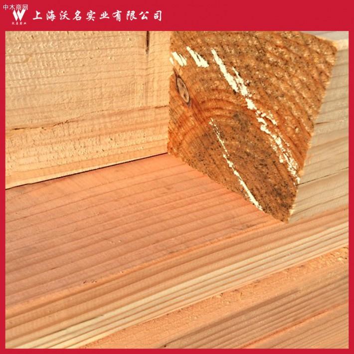 木材厂家批发 建筑花旗松木方 松木板材花旗松防腐木