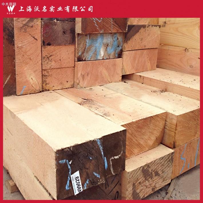 木材厂家批发 建筑花旗松木方 松木板材 工地料 花旗松方木防腐木