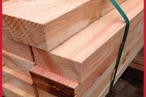 木材厂家批发 建筑花旗松木方 松木板材 工地料 花旗松防腐木