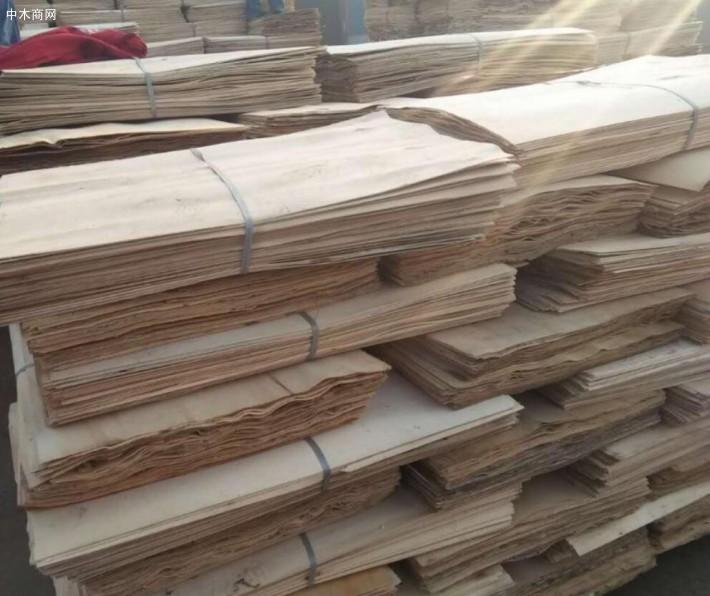 上海福人木材市场刨切单板价格行情_2018年10月31日