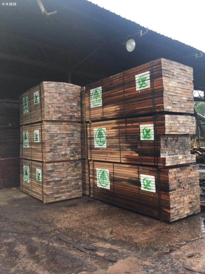非洲材,加蓬黑檀板材,黑檀木烘干材锯材,实木板材300方产品