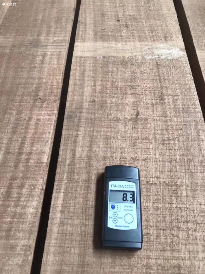 进口非洲红斑马烘干板材多少钱