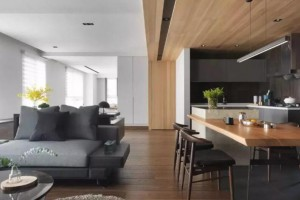 木+灰,台湾气质住宅!