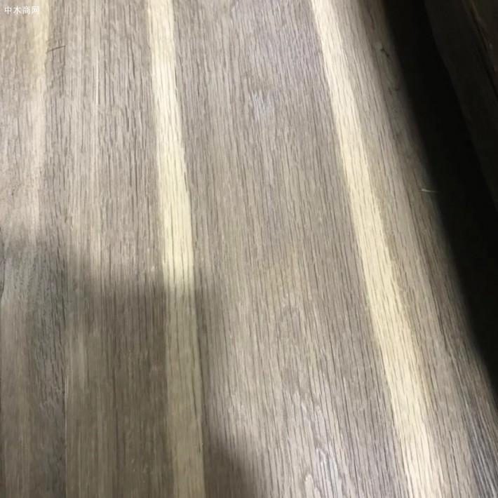 烟熏碳化白橡木皮厂家批发价格