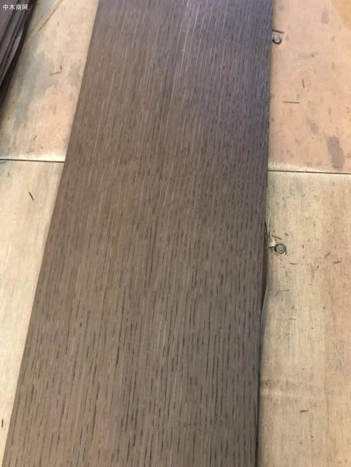 烟熏碳化白橡木皮做开放清漆是什么意思?