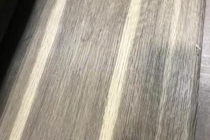 烟熏碳化白橡木皮实例图片