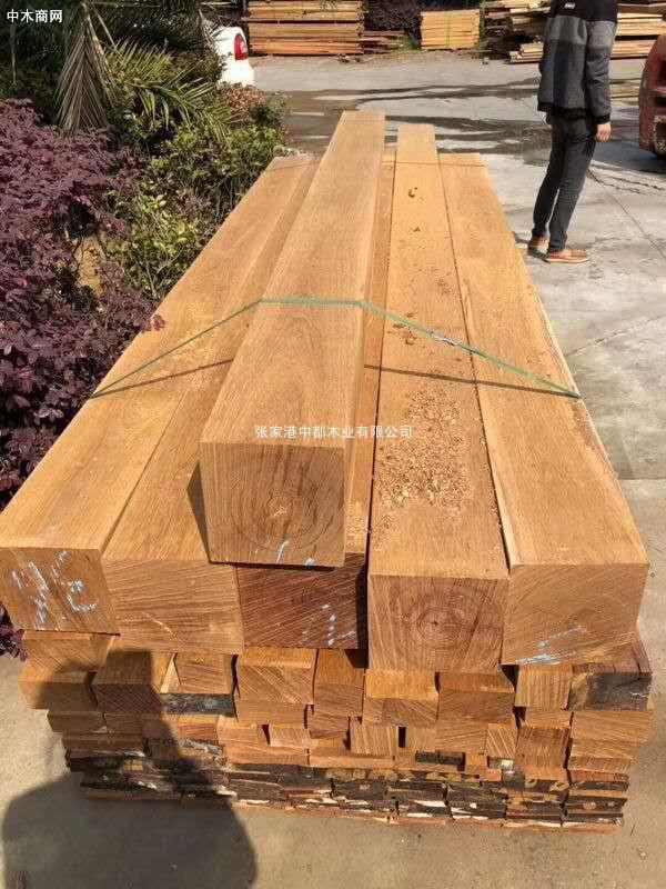 (古建园林景观木材料供应)菠萝格批发