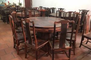 大红酸枝1.5米餐桌