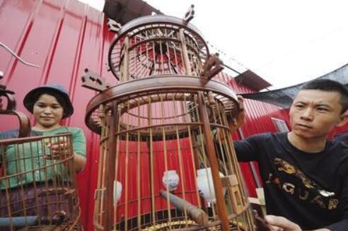 图说河北|红木鸟笼手艺人刘建华
