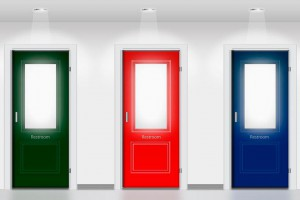 卫生间门一般用什么门?