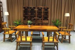 胡桃木实木大板