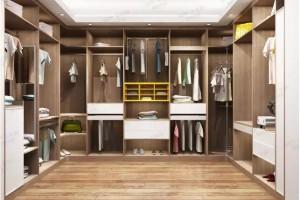 千年舟定制衣柜 衣帽间 定做衣柜 板式家具