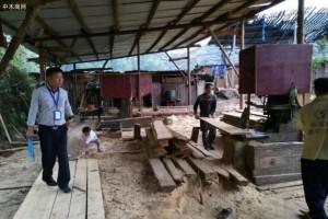 寿光市对古城街道木材加工企业进行安全生产检查