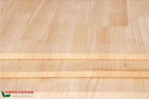 橡胶木AA指接板/拼板厂家批发价格