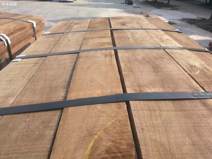上海枋原木业(余建东)的看法国内加工出黑胡桃的特点