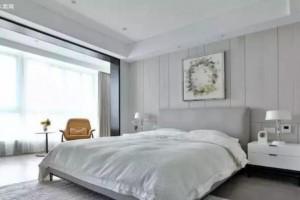 地板是灰色的,床配什么颜色好看?