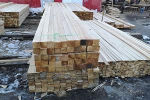俄罗斯落叶松建筑木方批发报价视频