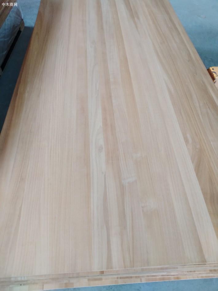 白杨木拼板杨木碳化拼板