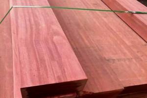 马来西亚柳桉木圆柱 古建柳桉木地板料工程