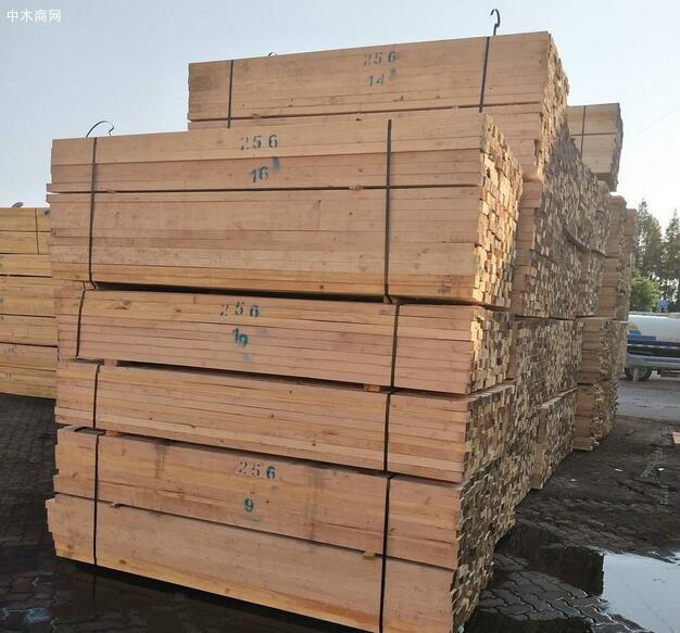 在土木建筑工程当中,杉木建筑木方常常会做混凝土模板的楞木