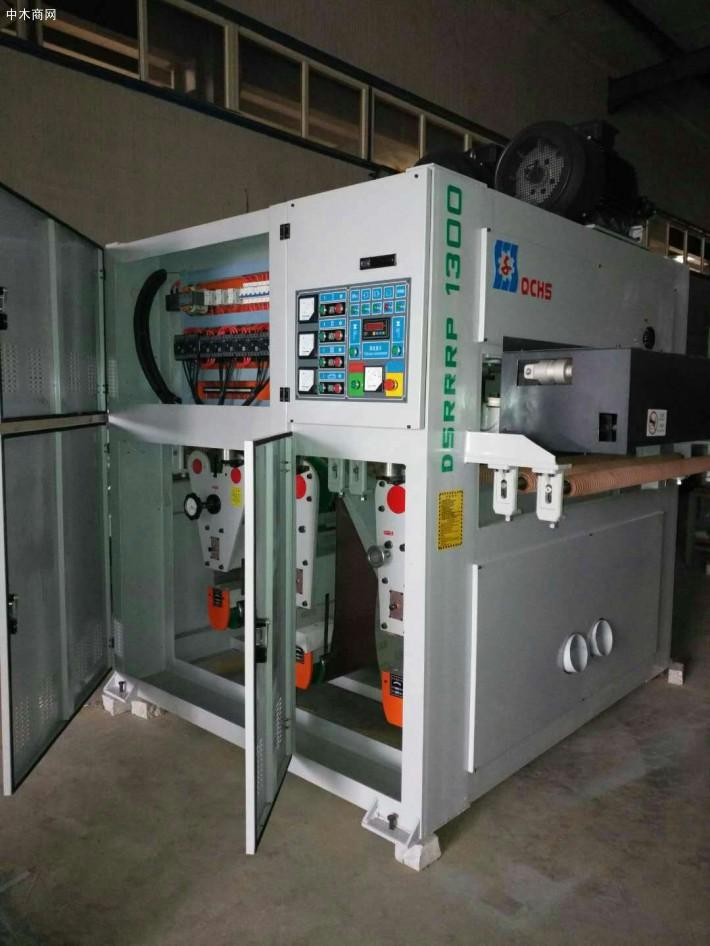 宽带砂光机应用于木工砂光机制造领域