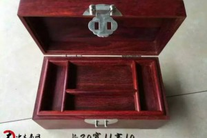 印度小叶紫檀木箱