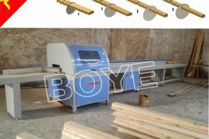 木托盘数控断料锯 木板木托盘电子截断锯数控裁板锯电子裁板锯