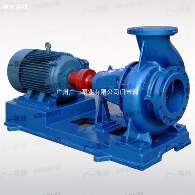 单级单吸清水离心泵-卧式离心泵-消防供水水泵
