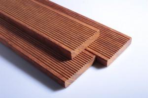 印尼菠萝格地板户外防腐木防滑槽实木庭院平台硬木板进口板材