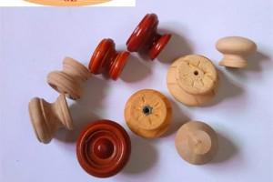 供应荷木蘑菇单孔拉手  榉木蘑菇拉手拉手 松木橱柜木拉手