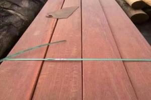 非洲巴劳木园林景观防腐木工程 巴劳木建筑木条方厂家