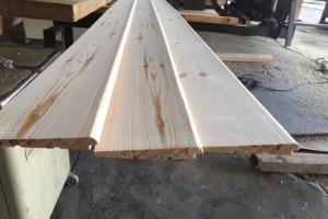木屋室外扣板实木斜挂板外墙护墙板