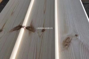 木屋室外扣板实木斜挂板外墙护墙板厂家批发