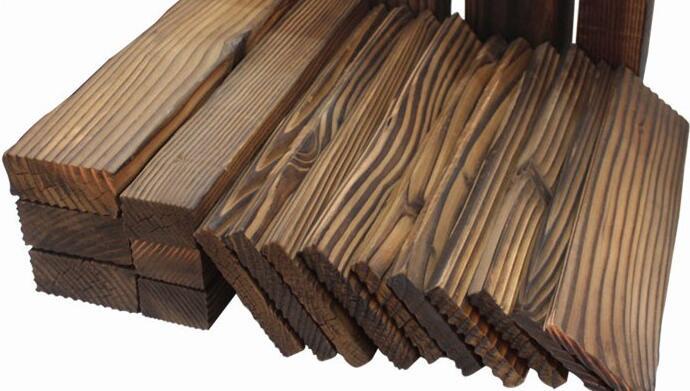 深度炭化防腐木安全环保