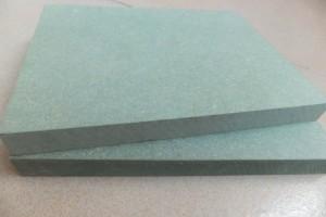 绿色防潮板防水板密度板E1级四八尺浴室柜门板12/15/18mm可贴三聚氰胺纸