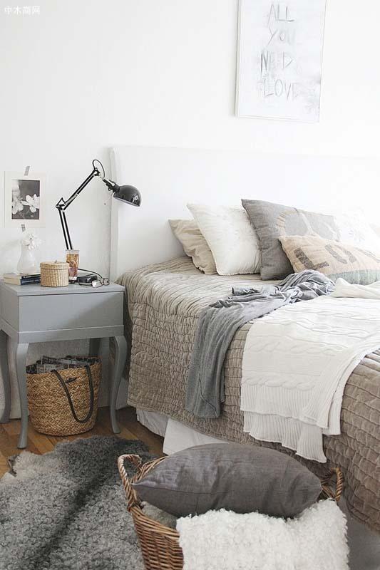 被套和床单则可以按照个人对材质的喜好来选择