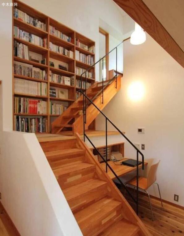 这种楼梯造型一般是楼层较高