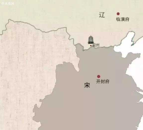 1000年前的中国,宋辽对峙、兵连祸结