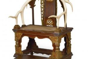 存世仅7件!鹿角椅内藏着满清皇室什么祖传家法?
