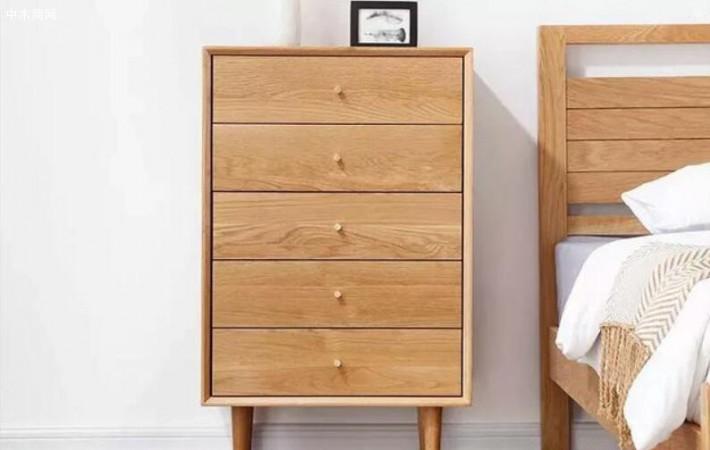 白橡木斗柜