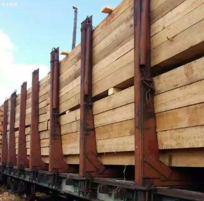 俄罗斯木材口料价格行情_2019年01月18日