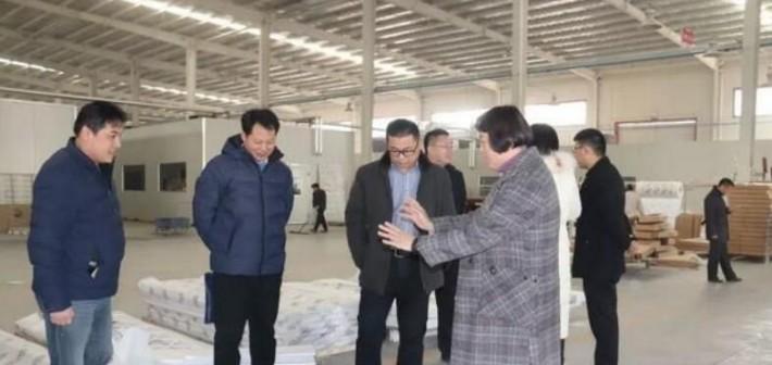 临沂市林业局副局长陈志坤参观调研探沂镇木业产业